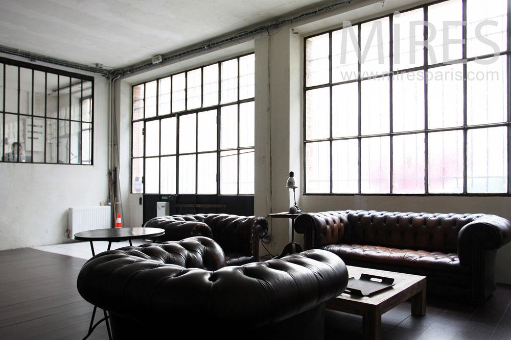 salon anglais dans la pi ce vivre c0836 mires paris. Black Bedroom Furniture Sets. Home Design Ideas