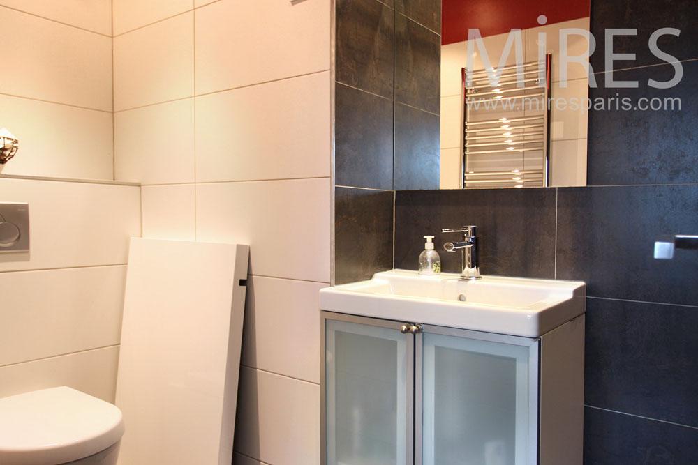 Moderne mires paris - Chambre blanche et rouge ...