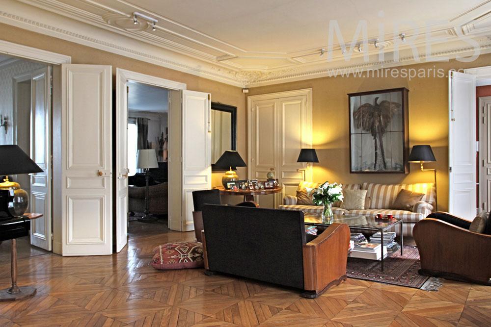 Appartement M 233 Lange De Style C0851 Mires Paris