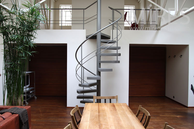 Spiral staircase. C0859
