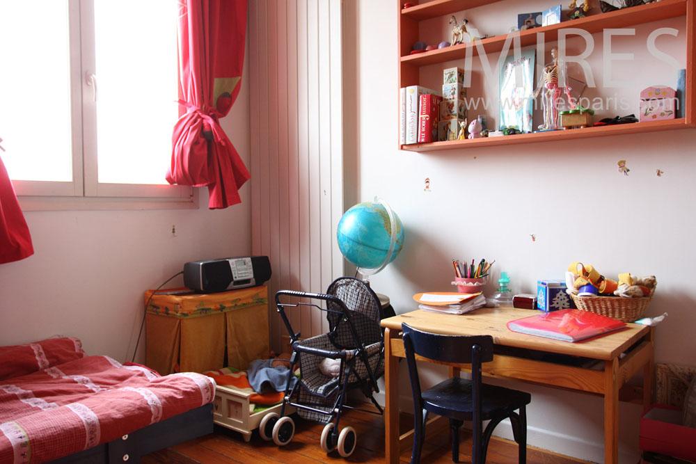 chambre de jeune fille c0855 mires paris. Black Bedroom Furniture Sets. Home Design Ideas