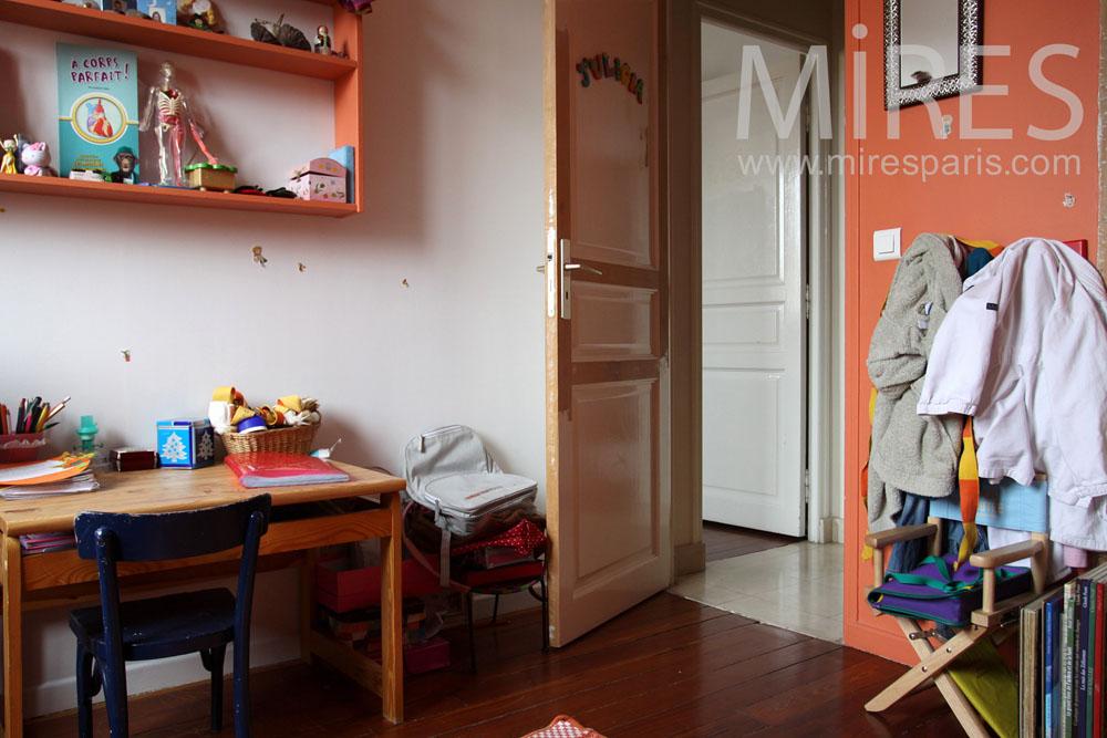 Chambre de jeune fille c0855 mires paris - Chambre de jeune fille ...