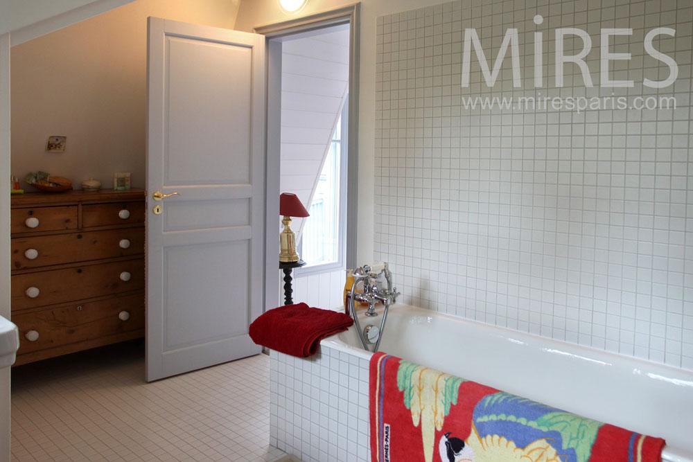 Salle de bains de la chambre. C0861
