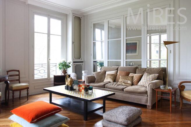 salon chic et cosy c0864 mires paris. Black Bedroom Furniture Sets. Home Design Ideas