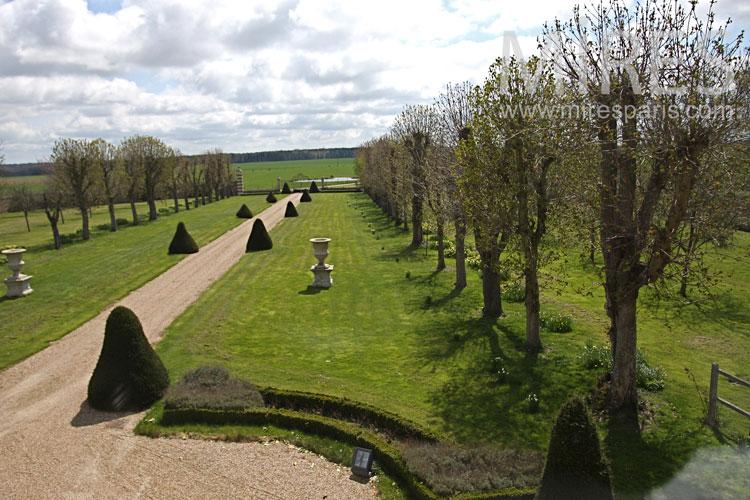 Castel garden. C0866