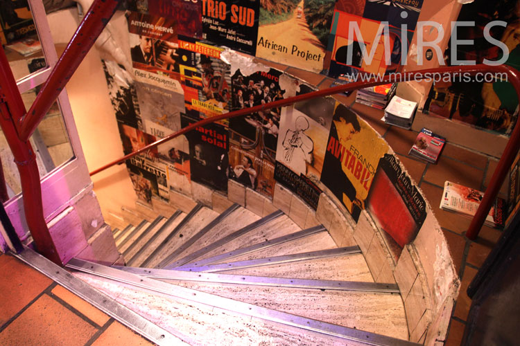 Groovy stairs. C0885