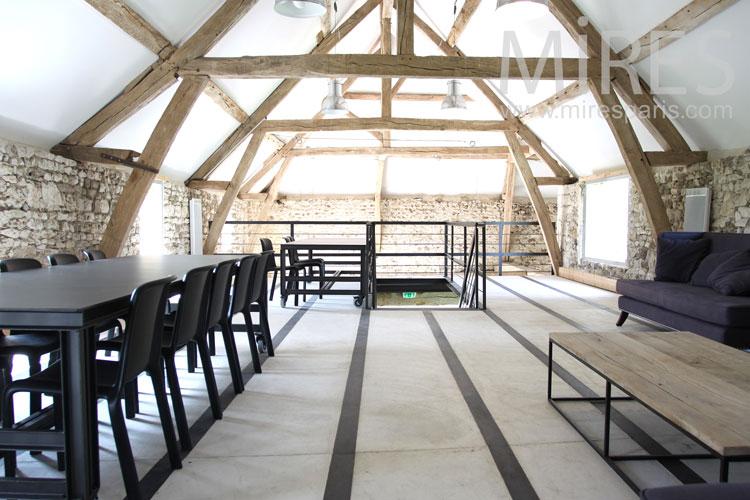 Seminar room attic. C0887