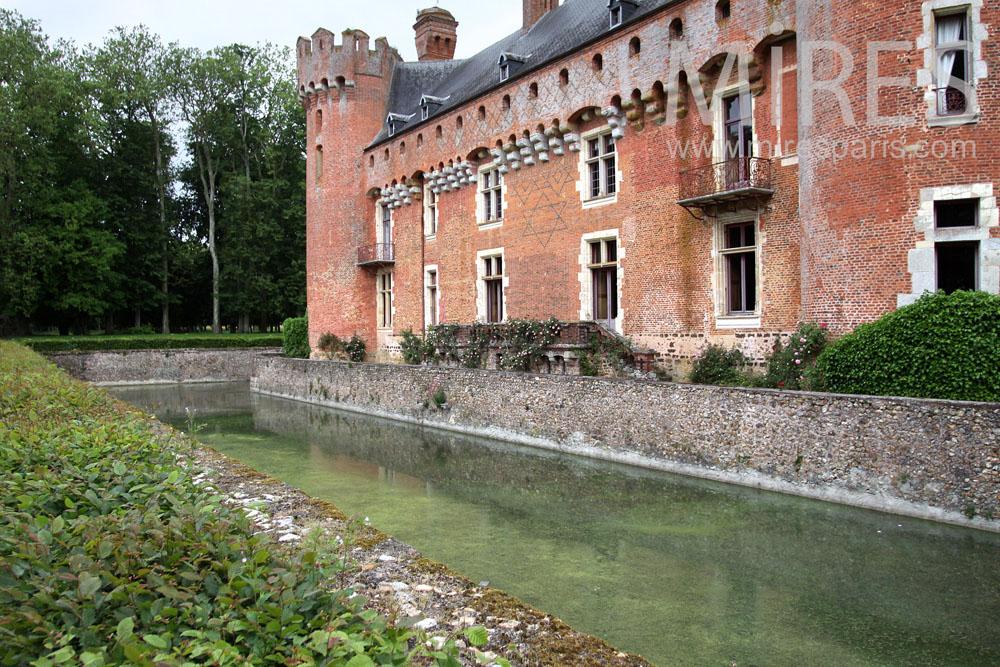 Douves du Château. C0890