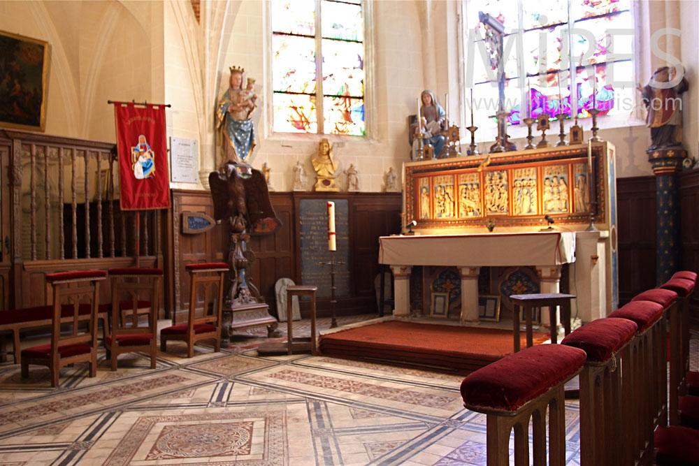 Chapelle médiévale. C0890