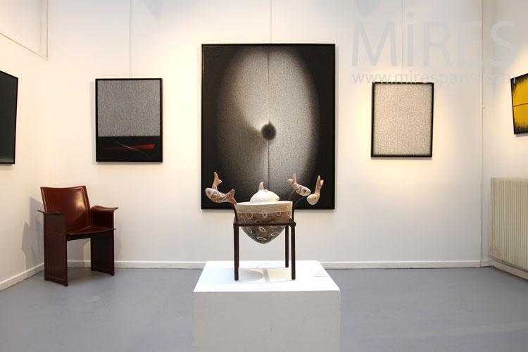 Galerie primitive contemporaine. C0895