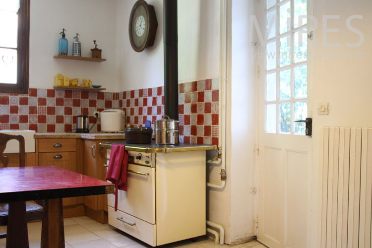 Real old kitchen. C0897
