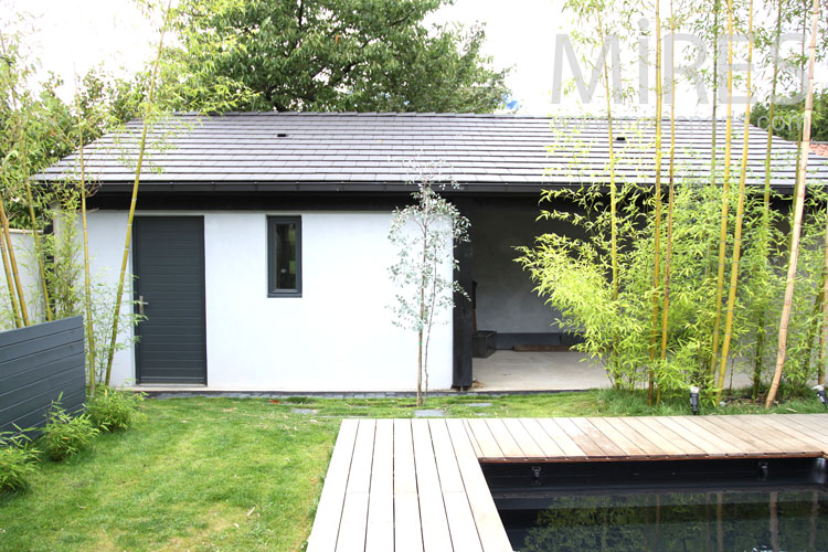 Pool House Moderne. Top Dreamer With Pool House Moderne. Cheap Best ...