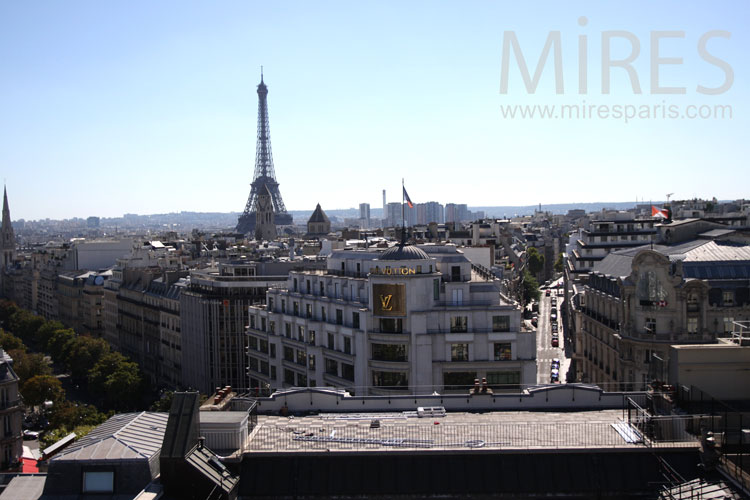 Panorama of Paris. C0909