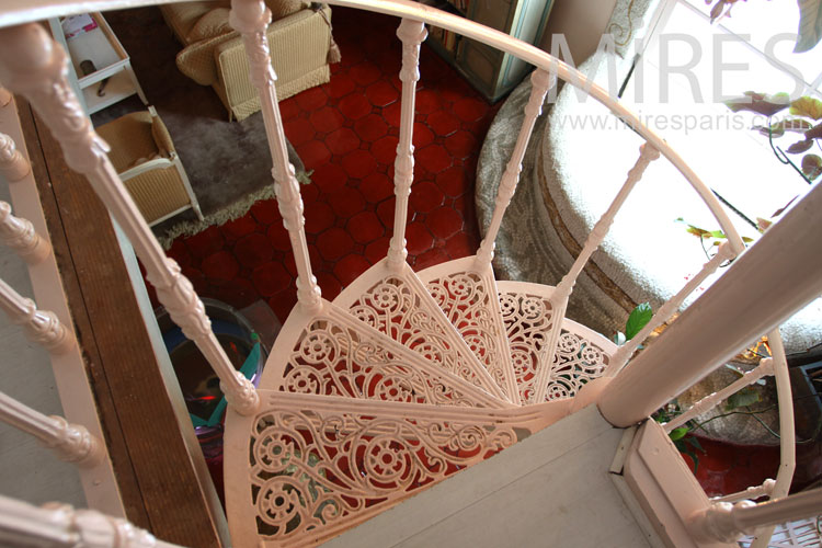 Staircase lace. C0912