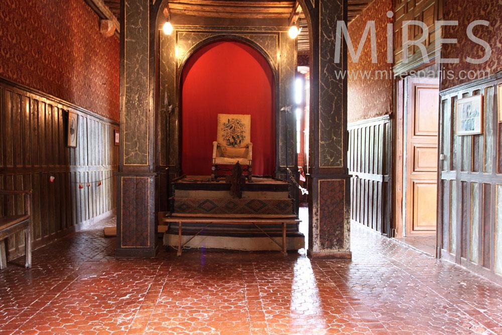 Salle du trône. C0890