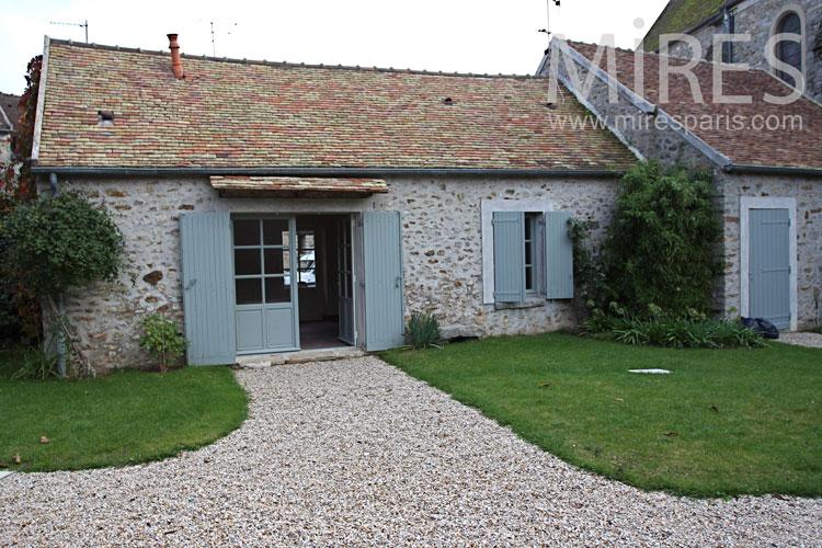 La maison de Jacquou. C0932