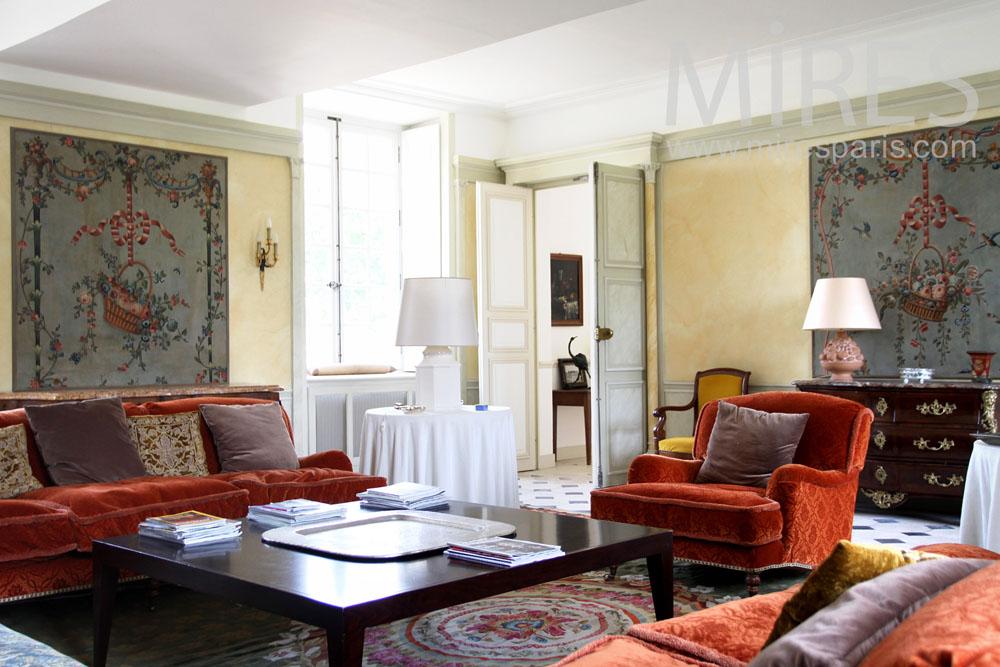 Orange living-room. C0937