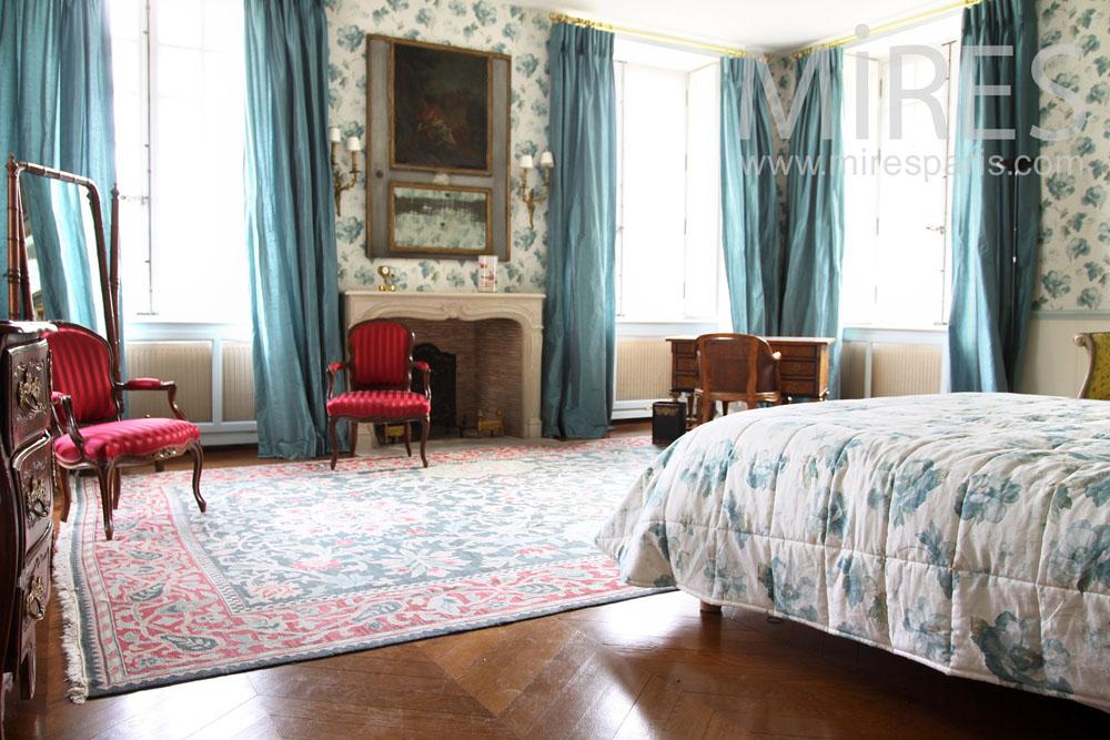 Blue bedroom. C0937