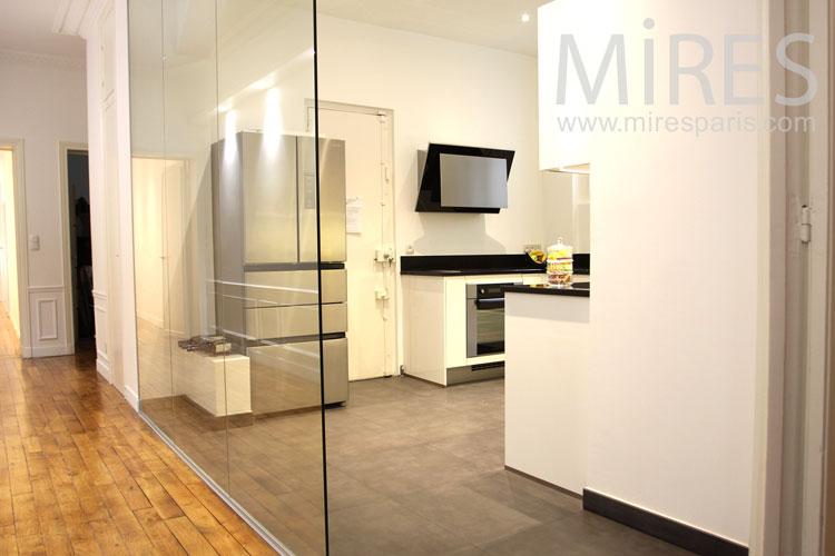 Straight kitchen. C0942