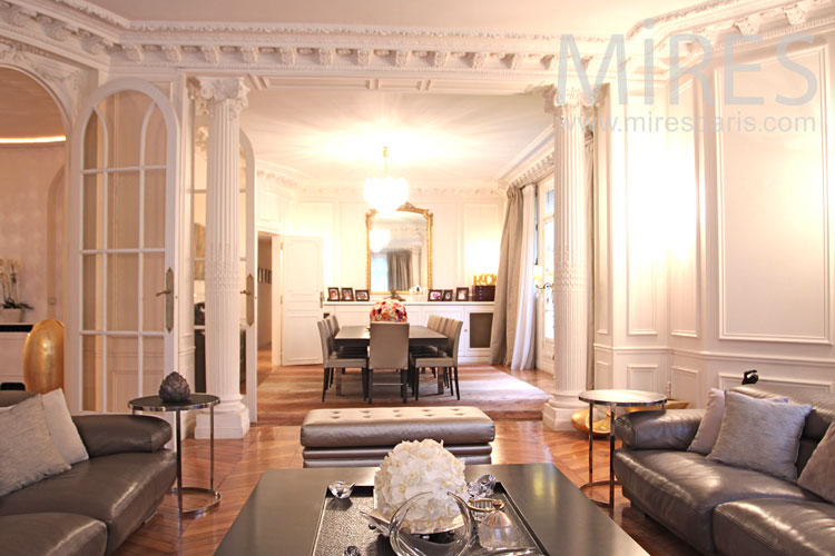 Beautiful Parisian apartment. c0943
