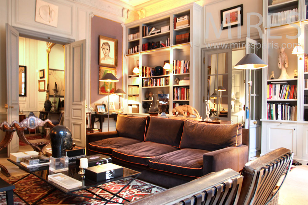 salon m lange de style c0949 mires paris. Black Bedroom Furniture Sets. Home Design Ideas