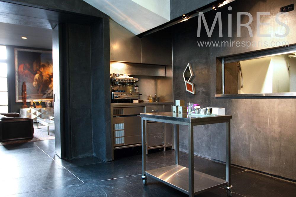 Cuisine M 233 Tal Passe Plat C0962 Mires Paris