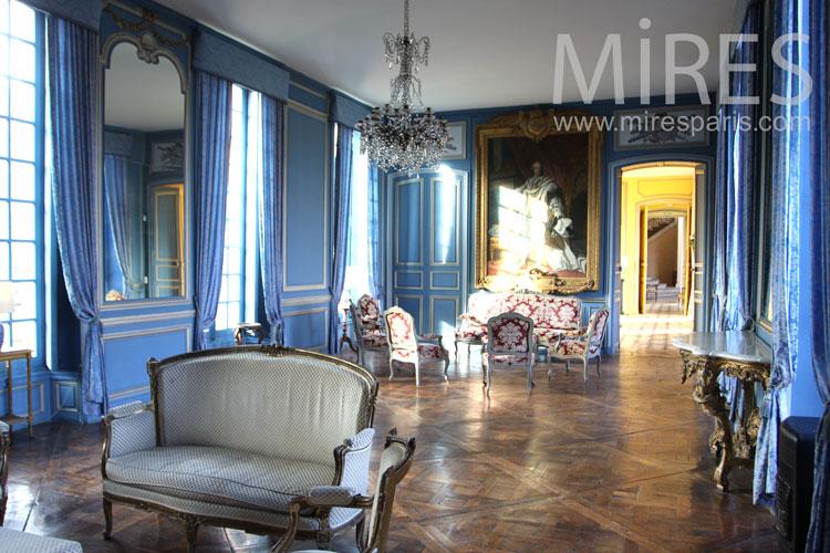 Le salon bleu. C0965