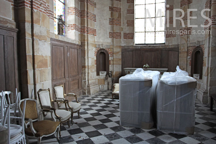 Chapelle désaffectée. C0965