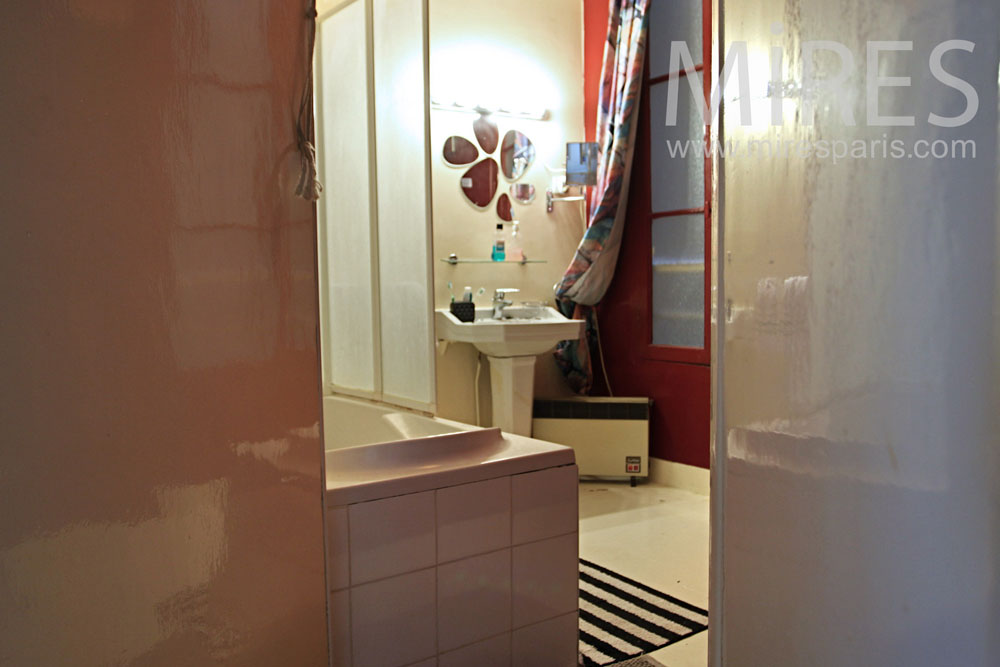 Salle de bains satinée. C0970