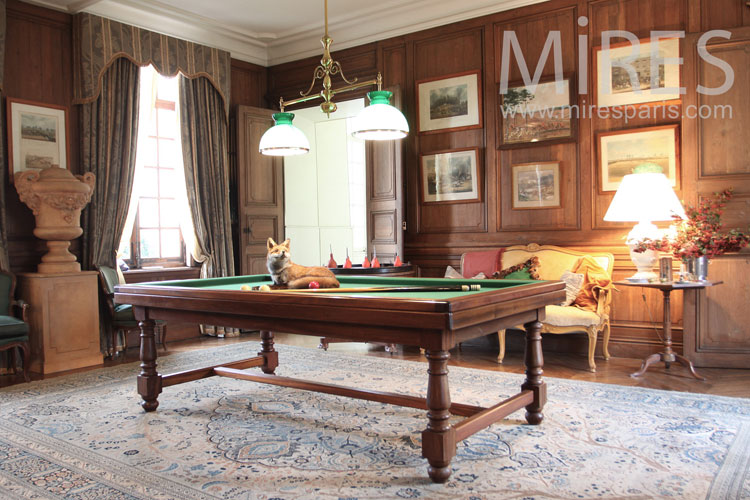Prestigious French billiards. C0968