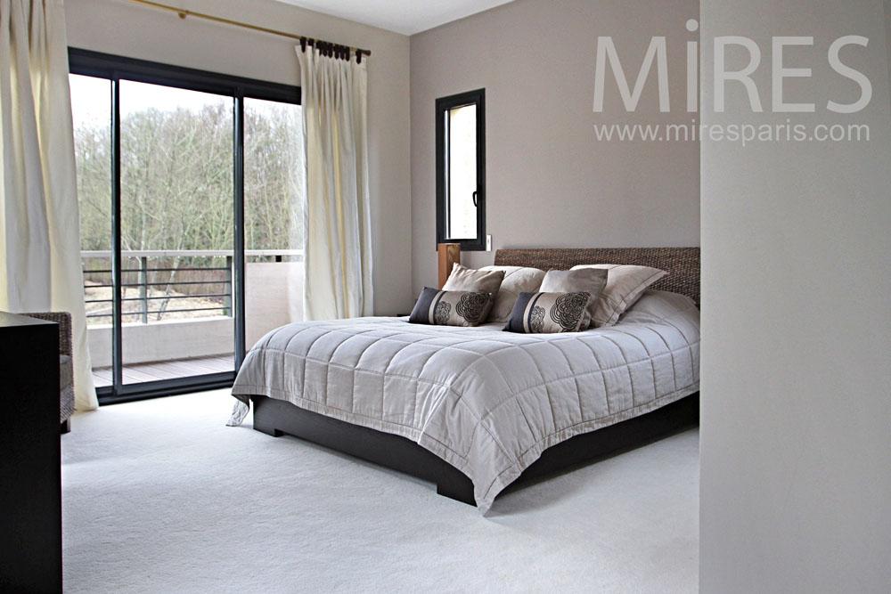 Chambre, dressing et salle de bains. C0974 | Mires Paris