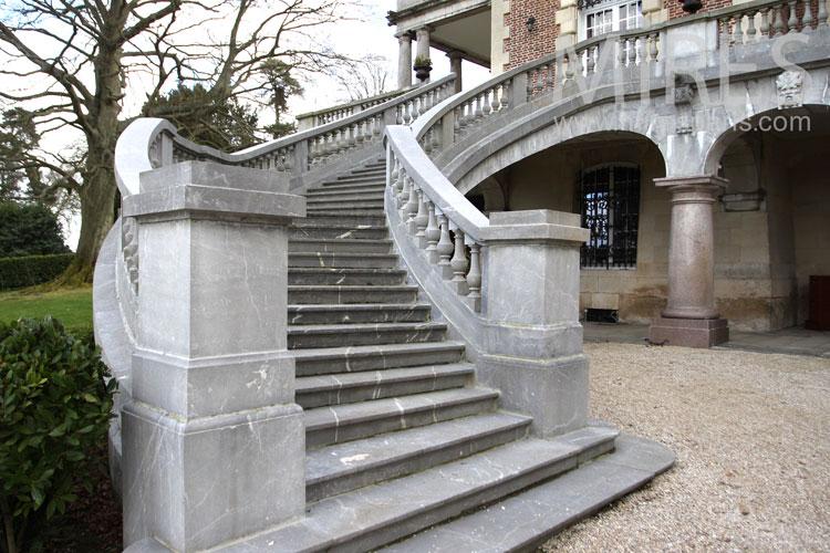 double escalier de pierre c0981 mires paris. Black Bedroom Furniture Sets. Home Design Ideas