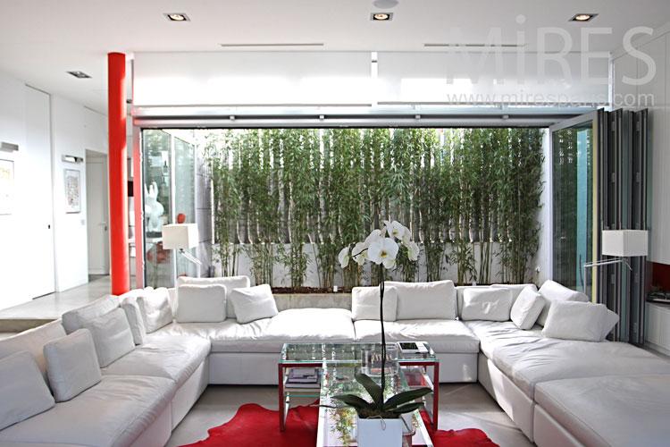 Beautiful white lounge. c0987