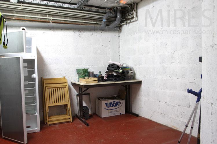 buanderie en sous sol c0991 mires paris. Black Bedroom Furniture Sets. Home Design Ideas
