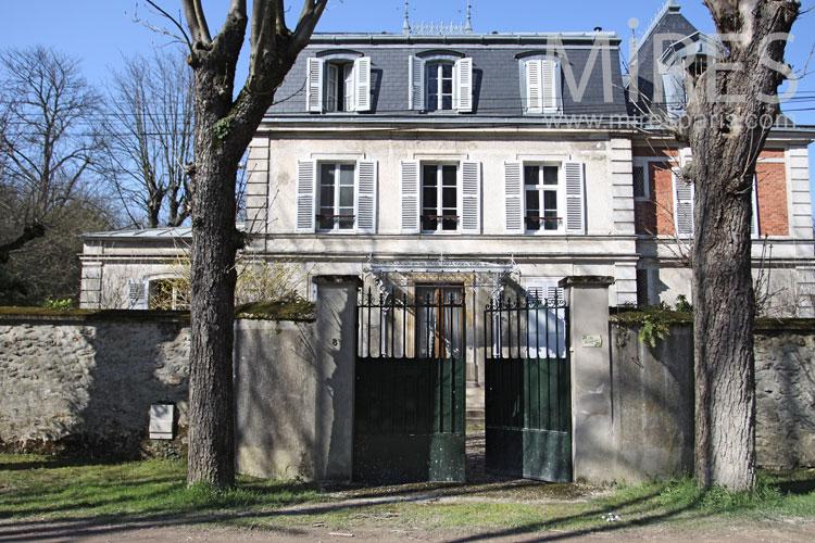08 vue d ensemble mires paris - Maison ancienne bourgeoise paris vi ...