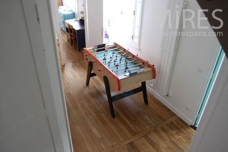 Football and games room. c0994