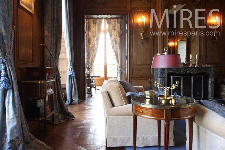 Grand salon moderne et classique. C0998 | Mires Paris