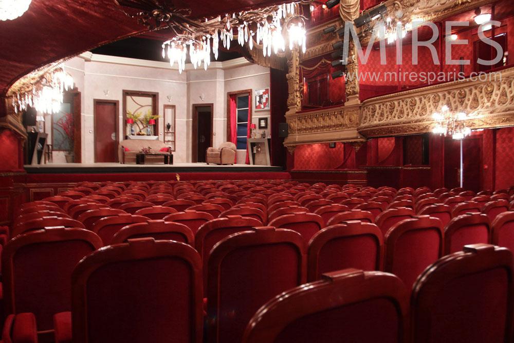 XVIII century theater. C0999