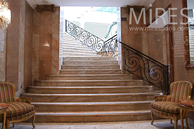 Grand staircase. C1008