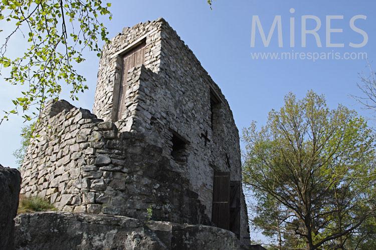 Ruin area. C1013