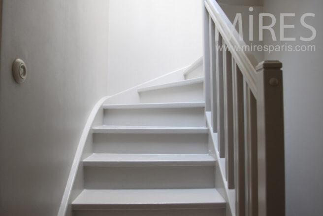 Escalier Bois Peint En Blanc Meilleures Images D 39 Inspiration Pour Votre Design De Maison