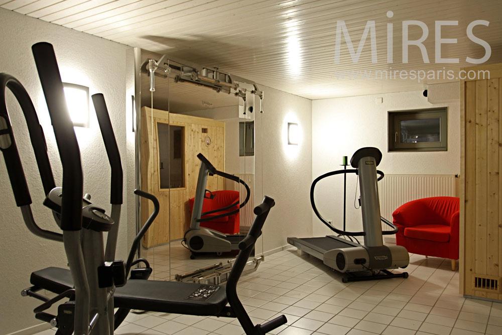 Garage Mezzanine Gym