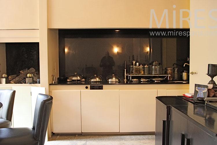 salle manger d b ne et cuisine encastr e c1020 mires paris. Black Bedroom Furniture Sets. Home Design Ideas