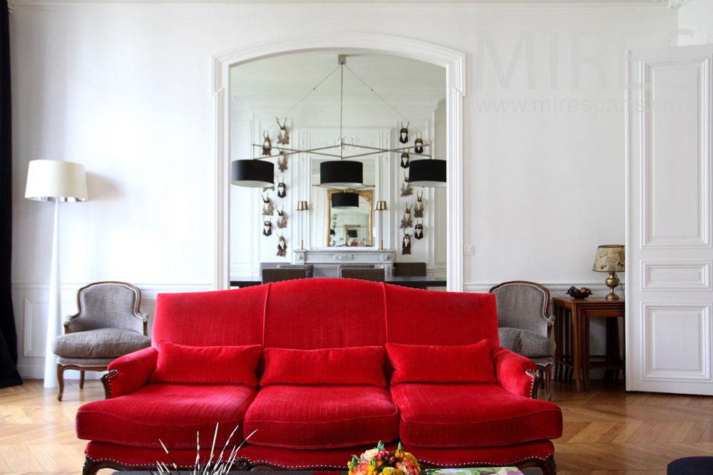 Salon mélange de style. C1022