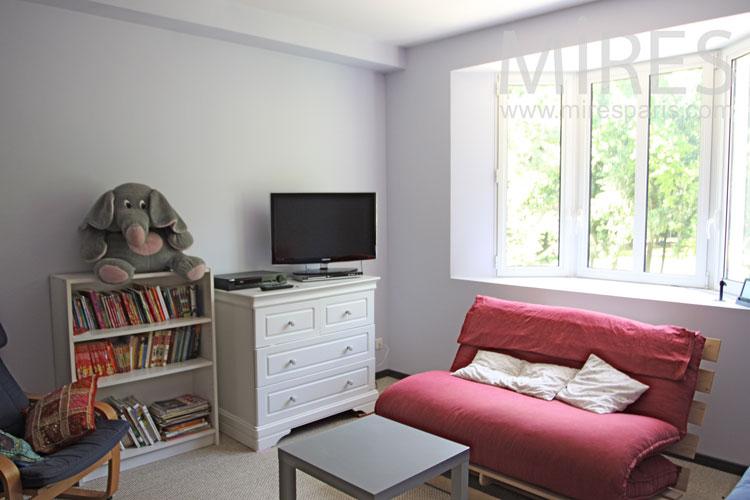 Studio duplex avec terrasse. C1032
