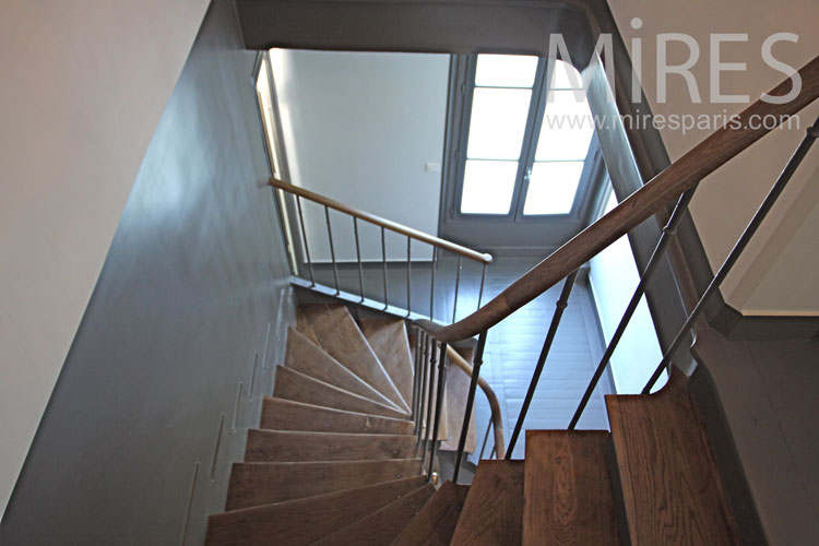 Traditional staircase. C1036