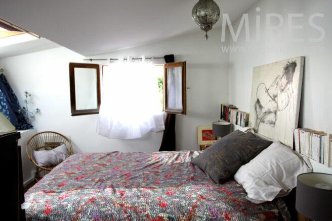 Petite chambre cosy c1038 mires paris for Chambre design normandie