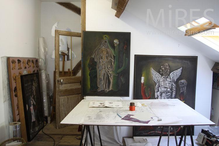 Paint shop. c1044