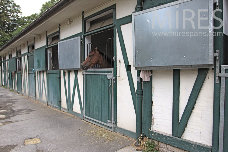 Racing stables. C1052