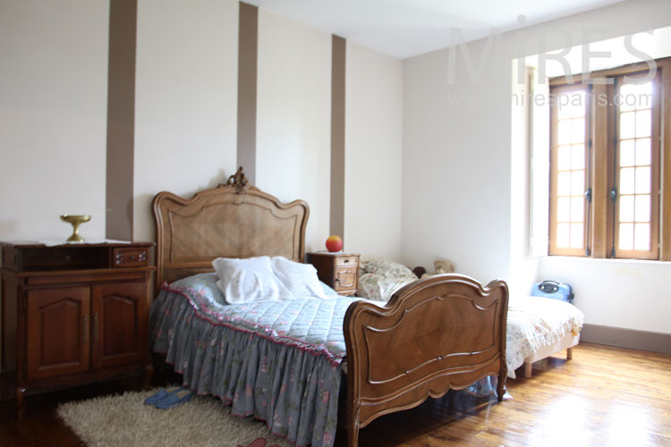 Countryside bedroom. C1052